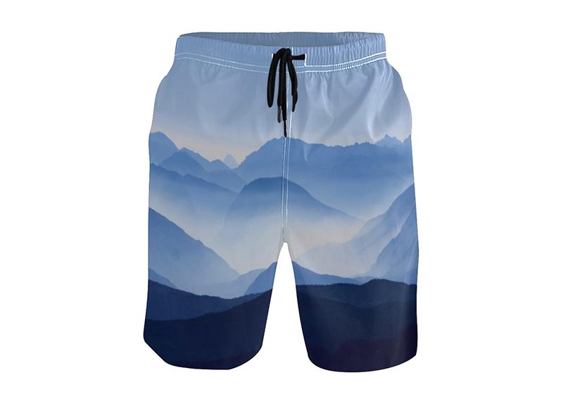 16793# 个性定制宽松沙滩裤短裤(可一件定制一件代发)